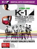 تصویر فینال مسابقات k1 2013 دو دی وی دی